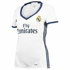 Maillot Domicile de football de clubs espagnols Real Madrid