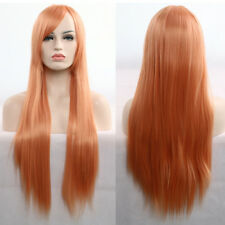 Wholesale Women Lady Full Wig Long Straight Wig Cosplay Party Costume Anime Hair