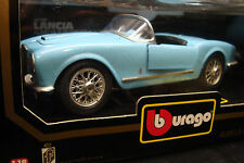 VERY RARE BURAGO 1-18TH 1/18 LARGE SCALE LANCIA AURELIA B24 SPIDER DISPLAYABLE