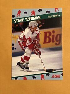 1991 Score NSCC National Sports Card Convention Promo #7 Steve Yzerman Detroit