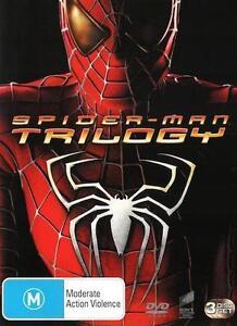 SPIDER-MAN TRILOGY 1 2 3 : NEW DVD