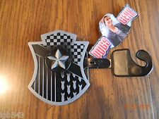 NWT-Solid Metal NAUTICAL STAR CREST and SHIELD METAL BELT BUCKLE by PUGS GEAR