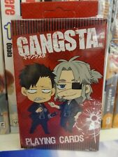 Gangsta! Official Anime & Manga Playing Cards