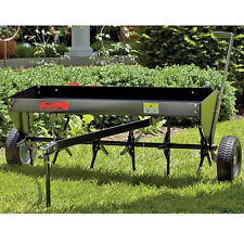 Plug Aerator Lawn Tractor Attachment Tow Behind ATV Soil Penetrator Equipment US