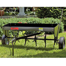 Plug Aerator Lawn Tractor Attachment Tow Behind ATV Soil Penetrator Equipment US