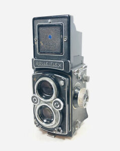Vintage 1954 Rolleiflex 3.5 TLR Camera For Parts Or Repair