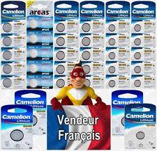 Piles boutons CR2450 DL2450 CR2032 3V Lithium - Exp. Rapide / Livraison Gratuite