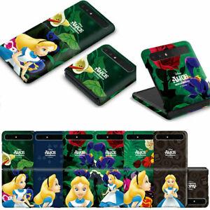 Classic 3D Hard Case with Alice for Samsung Galaxy Z Flip3 / Z Flip / Z Flip 5G