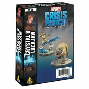 Marvel Crisis Protocol Crystal&Lockjaw