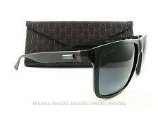 New Gucci Sunglasses GG 1075/S Black Gray GVBHD Authentic
