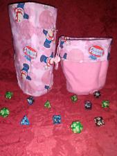 Double Bubble Retro Candy Dice Bag HANDMADE