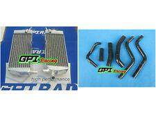 new Aluminum radiator + silicone HOSE Honda CR250 CR250R CR 250R 1988-1989 88 89