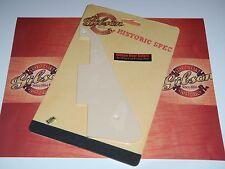 Gibson Les Paul Pickguard Historic 1959 Creme Guitar Parts Cream R8 R9 R0 R7 ES