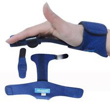 Trigger Finger Splint Metallic Hand Support Orthotics Braces Straightening
