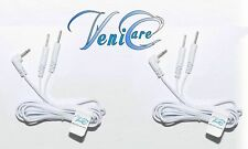 VeniCare Electrode Lead Wires / Cables for Digital Massager Tens 2.5mm One Pair