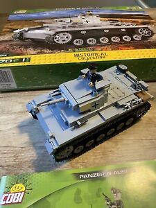 COBI 2523 PZKPFW III AUSF.E Panzer Klemmbausteine