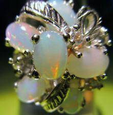 Unbehandelte Topas-Ringe mit echten Edelsteinen für Damen