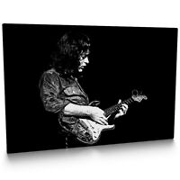 Rory Gallagher 001 Framed Canvas Print
