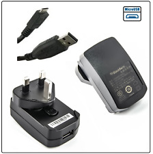 Genuine Blackberry Mains Charger for Bold 9700 9780 9790 Curve 8520 9300 3G 9320