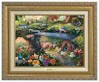 Thomas Kinkade Studios Alice in Wonderland 12 x 16 Canvas Classic Framed