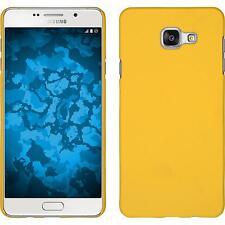 Custodia Rigida Samsung Galaxy A7 (2016) A710 gommata giallo