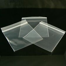 3 x 3 inch, 2 mil thick, zip top reclosable storage bags, 100 pcs