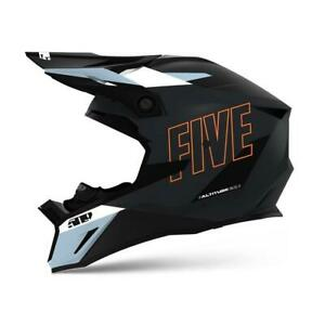 509 ALTITUDE 2.0 - Snowmobile Snow HELMET- DARK OPS WITH ORANGE - L or XL - NEW