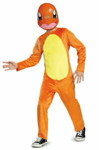 Pokemon Charmander Halloween Costume 10-12 Large