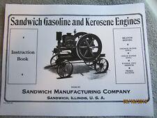 1919 Sandwich Gas Engine Instruction Manual