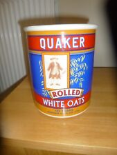 PORTMERION RARE QUAKER BISCUIT JAR/STORAGE JAR LIMITED EDITION OF 2500 RARE.1999