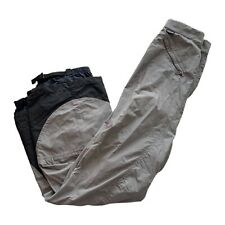 Patagonia Gray Vented Waterproof Lined Snowboard Ski Snow Pants Women's Size 6