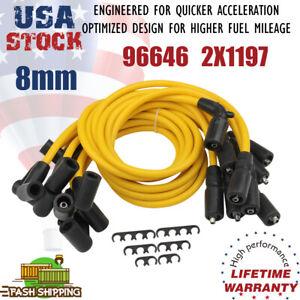 Spark Plug Wires Set For 1996 1997 1998 1999 2000 Chevrolet GM GMC V8 5.7L 5.0L