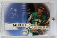 2003 UD Top Prospects Mentors and Learners Michael Jordan LeBron James RC #ML1