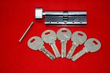 5 x 80MM NR Thumb Turn Cylinder Barrel Door Lock Anti Snap  Drill Pick Security