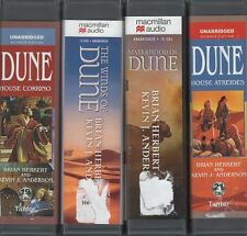 DUNE Lot 4 Audiobooks CD House Corrino Winds of Dune Sisterhood House Atreides