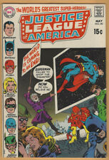 Justice League of America/JLA 80 F/VF 1970 DC  Batman Flash Green Lantern Arrow