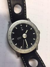 VENTURA Design on Time V-Matic Globe GMT Automatic Chronometer Titanium 39mm