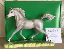 JOHN BESWICK HORSE PONY ARAB STALLION GREY GLOSS MODEL No. JBH37GR NEW & BOXED