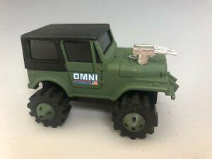 LJN ROUGH RIDER STOMPERS 4x4 OMNI FORCE Military Jeep RARE!