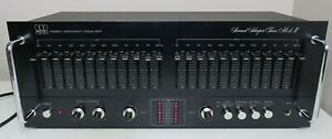 SOUND SHAPER TWO MKII SS-2 GRAPHIC EQUALIZER 12 BAND EQ WORKS PERFECT SERVICED