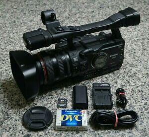 Canon XH A1 HDV Full HD Mini DV Camcorder Bundle NTSC 20x W/ Extras Tested FR/SH