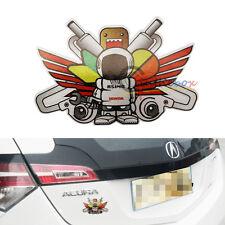 (1) JDM Japanese Style ASIMO Turbo Man Sticker Decal For Honda Car SUV Trucks