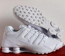 Nike Men Shox NZ White/White SZ 11.5 [378341-128]