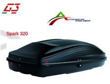 BOX BAULE UNIVERSALE PORTABAGAGLI TETTO AUTO G3 MOD. SPARK 320 - 240 LT - 22.400