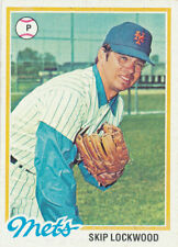 1978 Topps #379 Skip Lockwood New York Mets Baseball Card