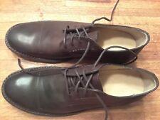 Frye dark brown dress shoes Mens 9.5 D