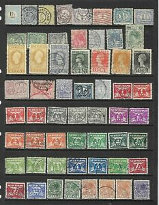 Netherlands - Used collection on 9 scans