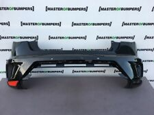 SEAT IBIZA CUPRA FL 3 DOOR 2015-2017 REAR BUMPER IN BLACK GENUINE [O64]
