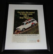 1966 Jeep Wagoneer 11x14 Framed ORIGINAL Vintage Advertisement