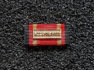 (S1-4) BW Einsatzmedaille Ordensspange Bandspange Act. Active Endeavour gold